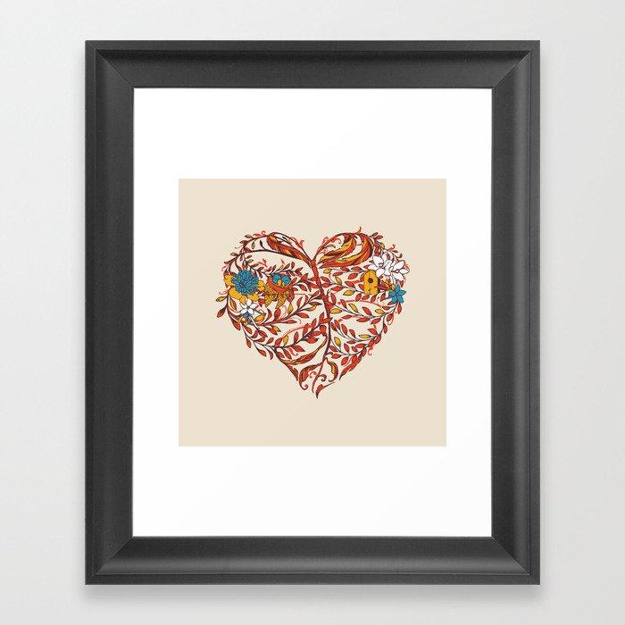 Just Like Home Framed Art Print
