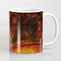 the mortal instruments Mugs featuring This Mortal Coil by Aurora Art