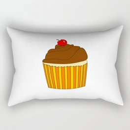 I Love Cupcakes Rectangular Pillow