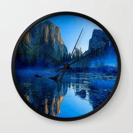 Bold Reflection Wall Clock