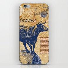 taurus | stier iPhone & iPod Skin