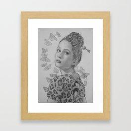 """""""Papillon"""" Framed Art Print"""