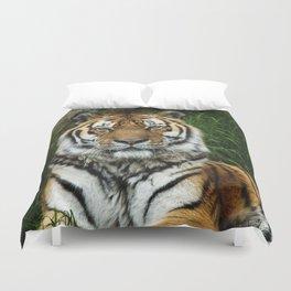 Majestic Fixed Tiger Stare Duvet Cover