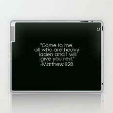 Matthew 11:28 Laptop & iPad Skin