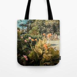 Garden Church  Tote Bag