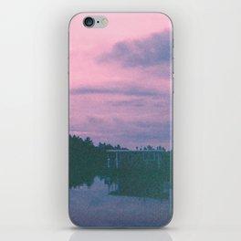 Rose island sunsets iPhone Skin