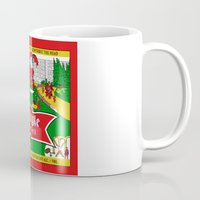 ale giorgini Mugs featuring Old Style Northern Ale by theyellowsnowco