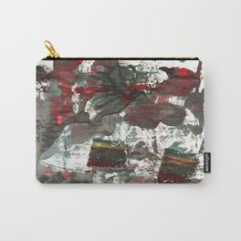 Dark liver abstract watercolor Carry-All Pouch
