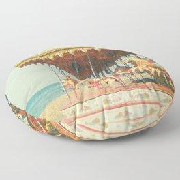 Seaside Carousel Floor Pillow