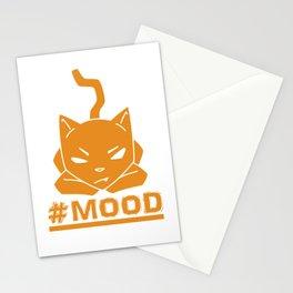 #MOOD Cat Orange Stationery Cards
