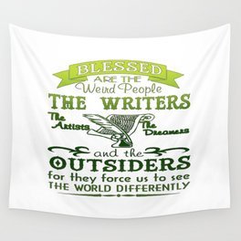 Writers, Artists, Dreamers Wall Tapestry
