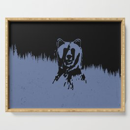 Bear Forest Serving Tray