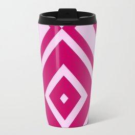 Pink Diamonds Travel Mug
