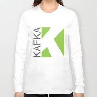 kafka Long Sleeve T-shirts featuring Kafka Educación en línea by Kafka Prepa Abierta