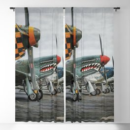 Fly Away to the Sky Blackout Curtain