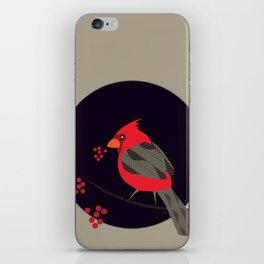 Cardinal Song iPhone Skin