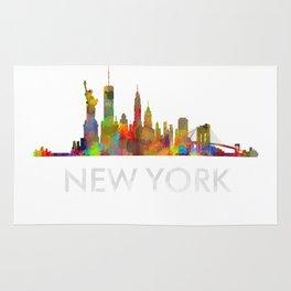 NY-New York Skyline HQ Rug