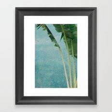 summer greens Framed Art Print