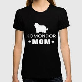 Komondor Mom Funny Gift Shirt T-shirt