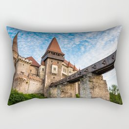 Corvin Castle, Transylvania Rectangular Pillow