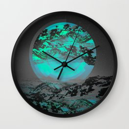 Neither Up Nor Down II Wall Clock