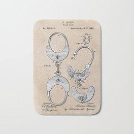 Ahrend Hand Cuff 1880 Bath Mat