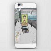 """korea iPhone & iPod Skins featuring """"Magic Kingdom"""" (North Korea) by correia creative"""
