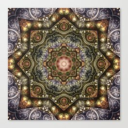 Mandalas from the Voice of Eternity 8 Canvas Print