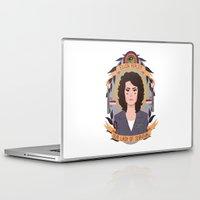 ripley Laptop & iPad Skins featuring Ellen Ripley by heymonster