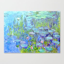 Water Lilies monet : Nympheas Canvas Print