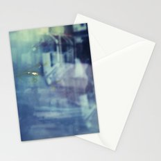 And yet the most ordinary silence reigns in these narrow places Stationery Cards