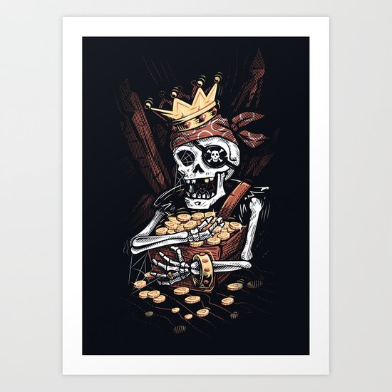 My Treasure Art Print