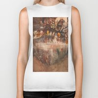 middle earth Biker Tanks featuring Middle of the Earth by Loredana
