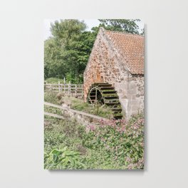 Preston Mill Scotland (Outlander) Photography Art Print Metal Print