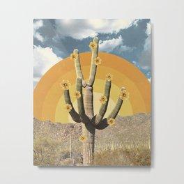 Flower of Desert Metal Print