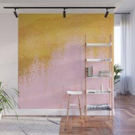Gold Rush - Pink Wall Mural