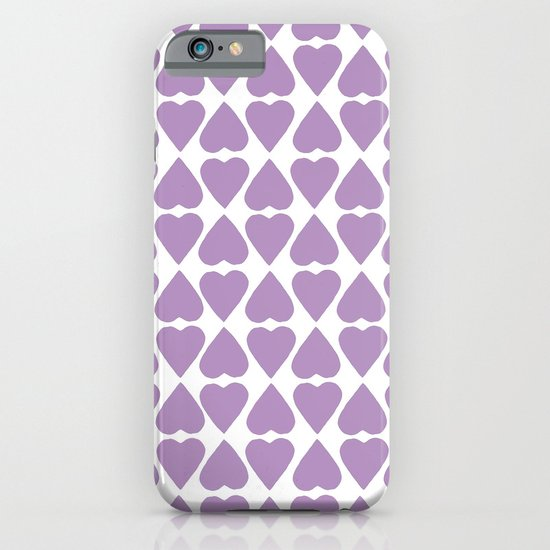 Diamond Hearts Repeat O iPhone & iPod Case