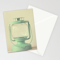 lovely vintage lamp Stationery Cards