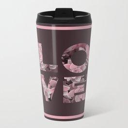 Succulent LOVE #society6 #love #succulent Metal Travel Mug