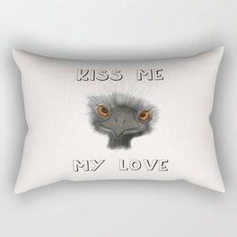 Kiss Me, My Love Rectangular Pillow