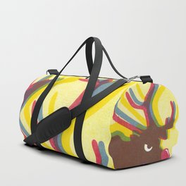 Angry Animals: Rudolph HO HO HO Duffle Bag