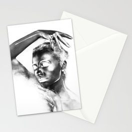 Fashion Body Paint Art Stationery Cards