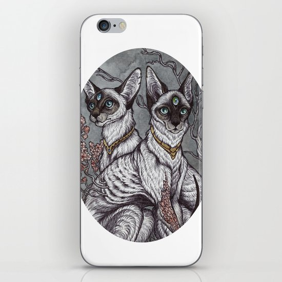 Gift of Sight art print iPhone & iPod Skin