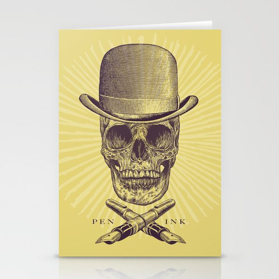 Dead Artist Stationery Cards