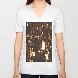 By Candlelight Unisex V-Neck