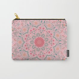 Flower Rounds Mandala Carry-All Pouch