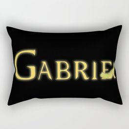 Gabriel with Feather Rectangular Pillow