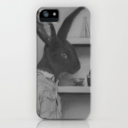 Not quite the black sheep of the family iPhone Case