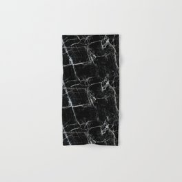 Black Marble Edition 1 Hand & Bath Towel