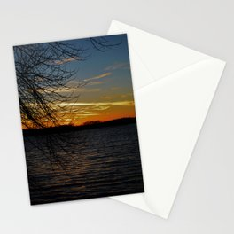 Sunset on the River. Stationery Cards